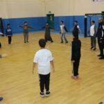 الصالات الرياضية في مدارس السلام الأهلية بالخبر